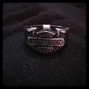 Harley Davidson Bar & Shield Ring